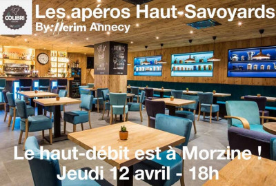 L'agence d'Annecy informe sur le Haut-Débit en station : Le Haut Débit est à Morzine !