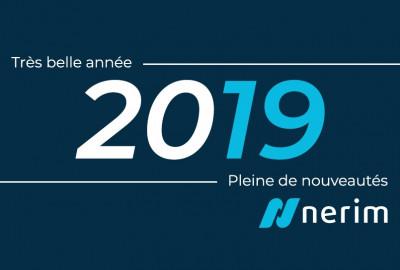 Nos équipes vous souhaitent de belles fêtes et une bonne année 2019 !