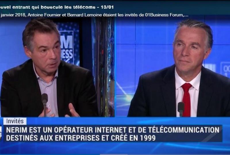 Nerim et Kosc Télécom, invités de BFM Business