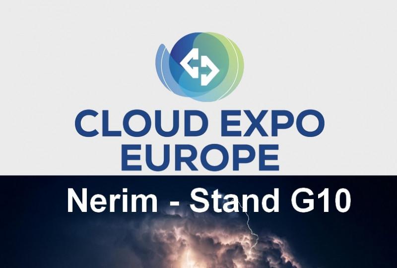 Nerim au Cloud Expo Europe les 27&28 novembre 2018