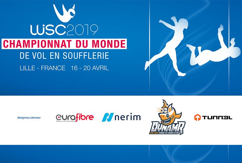 Nerim sponsor de Weembi et des championnats du monde 2019 de vol en soufflerie